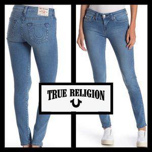 TRUE RELIGION HALLE STRETCH NO FLAP JEANS - Sz 26